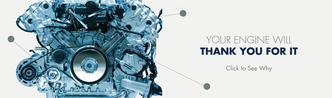 Your engine will thank you.